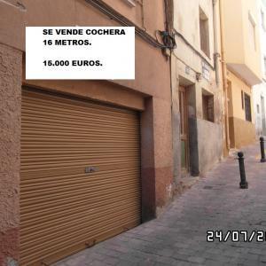 COCHERA INDEPENDIENTE CENTRICA EN YECLA